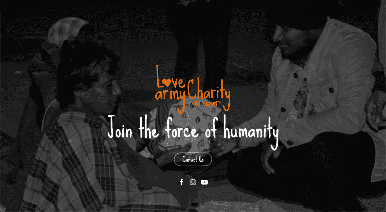 Love Army Charity - A Non-Profit Organization In India
