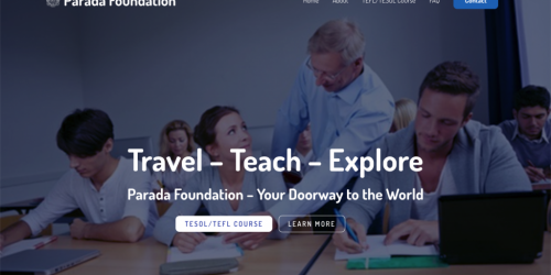 Parada Foundation - TEFL/TESOL A TEFL/TESOL training institute in Thailand