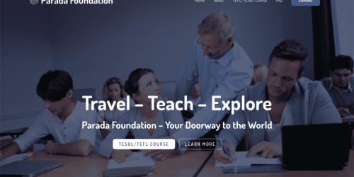 Parada Foundation - TEFL/TESOL A TEFL/TESOL training institute in Thailand