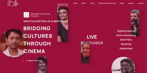 India Film Festival of Alberta - In partnership with Gnapi, Canada